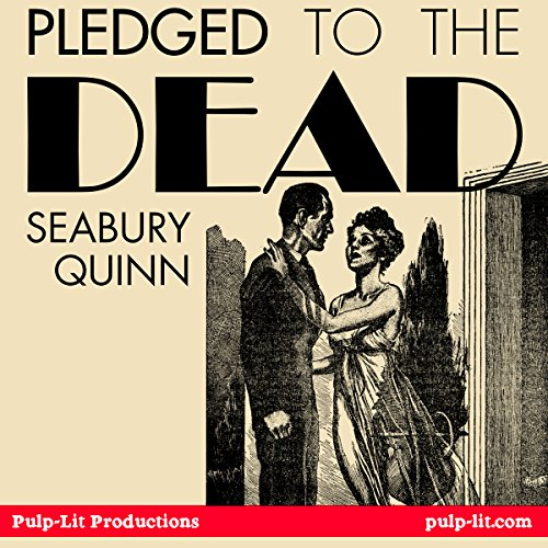 Pledged to the Dead audiobook cover art