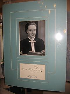 """* DORTHEA WIECK * signed 12x16"""" vintage album page display / UACC Registered Dealer # 212"""