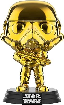 Funko FU37653 POP! Star Wars: #296 Stormtrooper Chrome Vinyl Figure