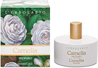 L'Erbolario Camellia Perfume Spray With Floral/Powdery Scent -Flower Symbol Of Love (Dermatologically Tested/Cruelty Free)...