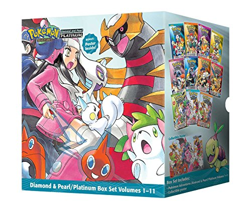 Pokemon Adventures Diamond & Pearl Platinum Box Set, Volumes 1-11 [With Poster]: Includes Volumes 1-11