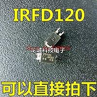 5pcs / lot IRFD120 IRFD120PBF DIP-4在庫あり