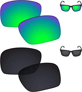 Galvanic Replacement Lenses for Oakley Holbrook OO9102 Sunglasses - Multiple Choices