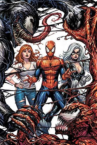 Póster de Marvel Comics Venom y Carnage Fight, multicolor, 61 x 91,5 cm