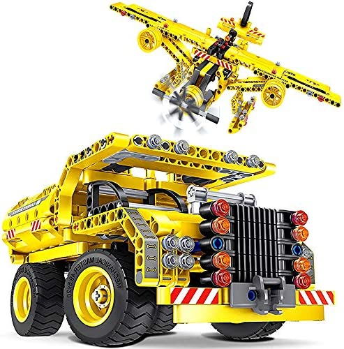 STEM Toy Building Sets for Boys 8 12 361 Pcs Construction Engineering Kit Builds Dump Truck product image