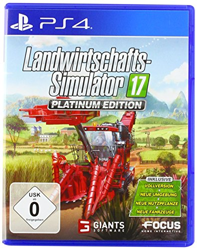 Landwirtschafts-Simulator 17: Platinum Edition - Playstation 4