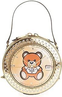 Luxury Fashion | Moschino Womens A753682201606 Gold Handbag | Fall Winter 19