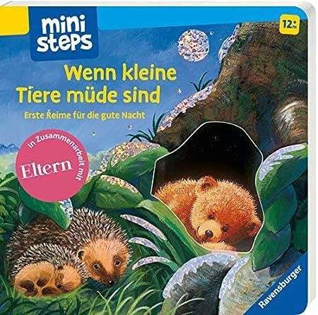 Mini Steps Buch ab 1 Jahr: Wenn kleine Tiere müde sind