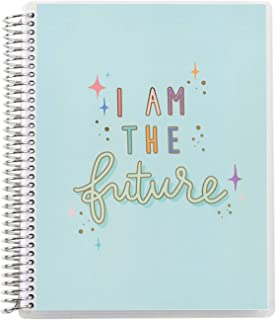 """Erin Condren Kids 8.5"""" x 11"""" Coiled Story Notebook (Wide Ruled) - I Am The Future for Storytelling Skills, w/Sections for ..."""