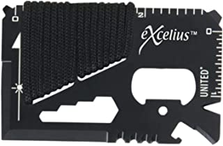 Credit Card Sized Multitool 14-in-1 Survival Tool Portable Wallet Size for Camping and Hiking EDC
