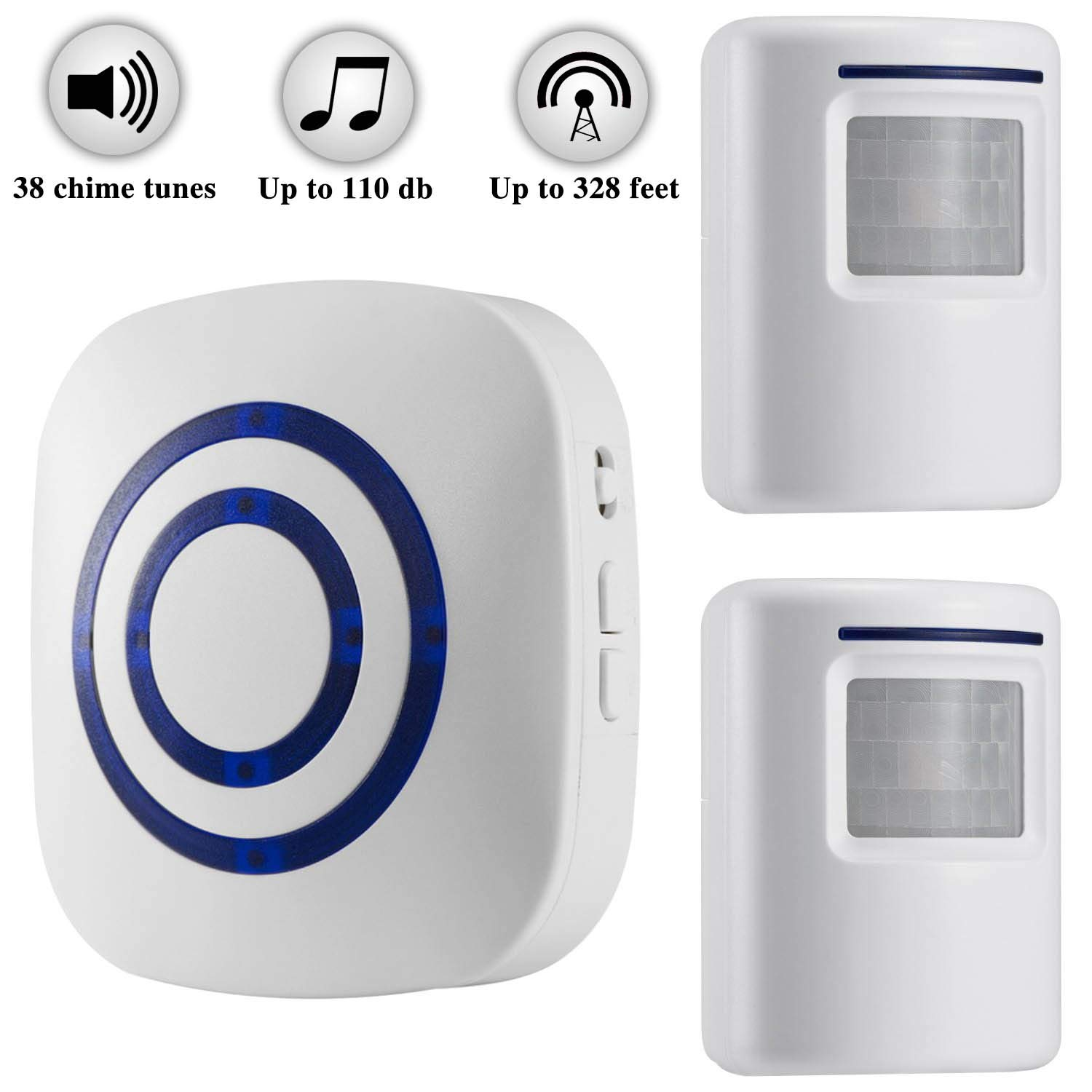Wireless Driveway Security Detector Receiver
