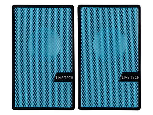 LiveTech SP07 USB Speakers (Blue)