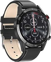 Smart Watch Business 1.3 Touchscreen Smartwatch Waterdicht IP68 Fitness Tracker Hartslagmeter Stappenteller Stopwatch Pols...