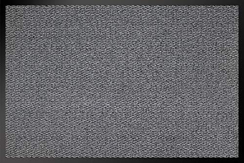 ID Mat 8012002 Cahors/Florac Tapis Paillasson Fibre Polypropylène/PVC Gris 120 x 80 x 0,67 cm