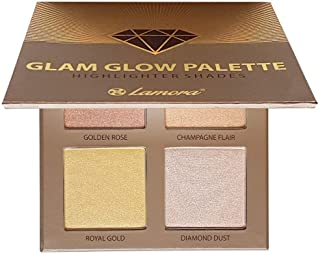 Highlighter Make-up Bronzer Powder Palette - Face