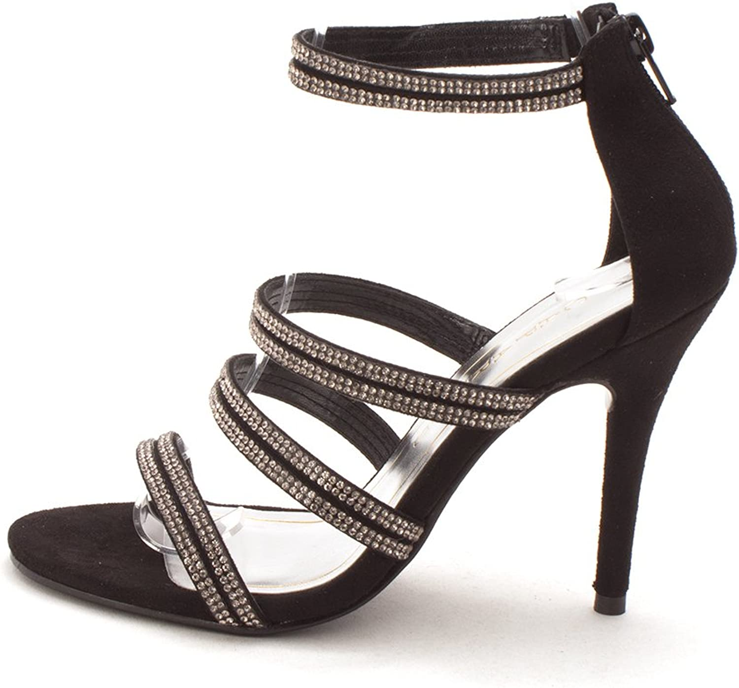 Caparros Womens Immense Suede Open Toe Special Occasion Strappy Sandals