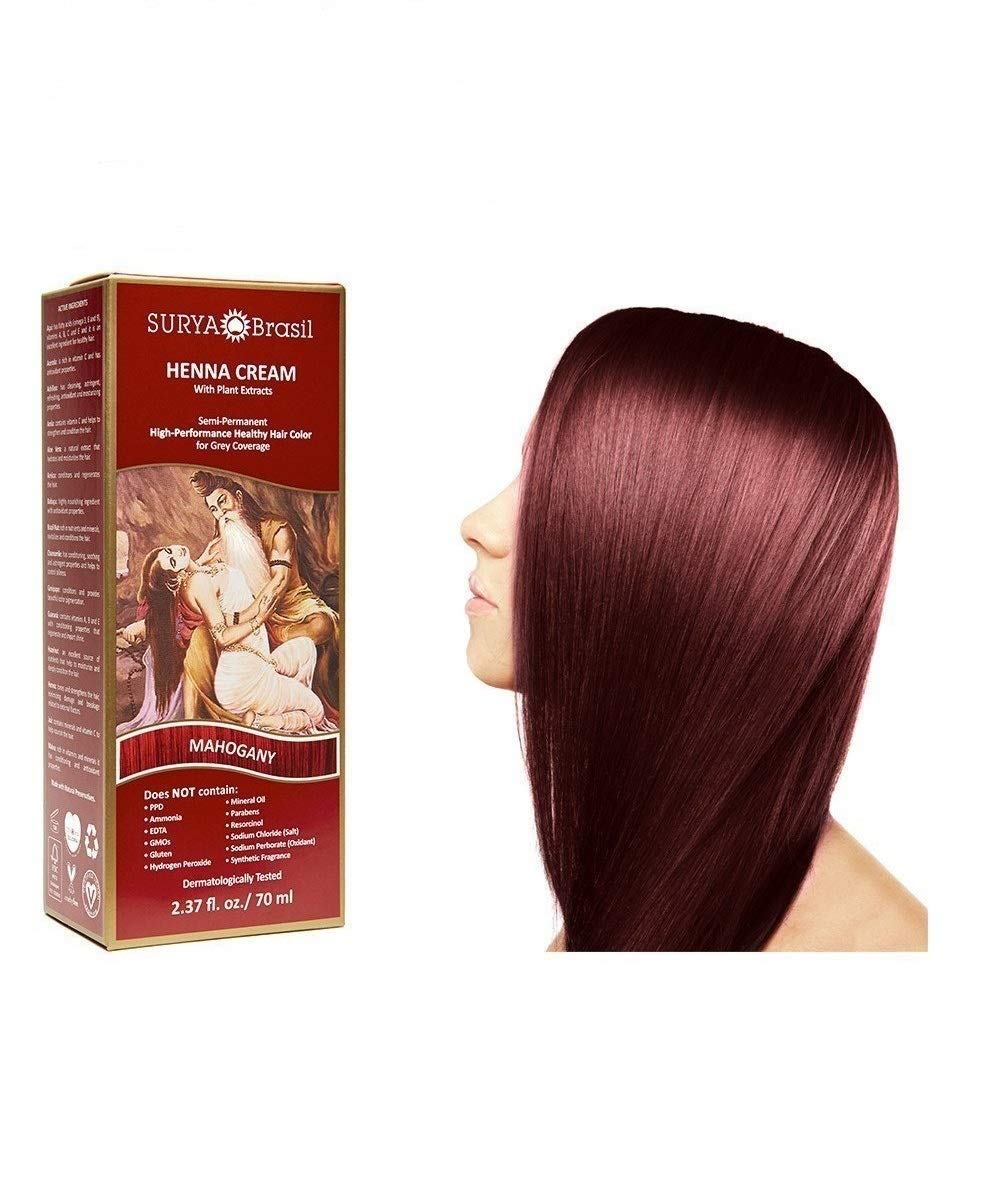 Surya Brasil Products Henna Mahogany