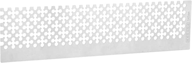 Painting Fix Tool Blank Grids Painting Ruler with Stainless Steel Ruler for Painting
