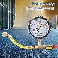 【𝐂𝐡𝐫𝐢𝐬𝐭𝐦𝐚𝐬 𝐆𝐢𝐟𝐭】 空調冷凍窒素圧力テストゲージ圧力テストテーブルの冷凍装置で使用するため。