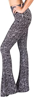 High Waisted Flare Palazzo Wide Leg Pants | Printed & Solid | Reg & Plus