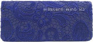 Wocharm (TM) Clutch/Handtasche für Damen, mit Satin und Spitze, modisches Design