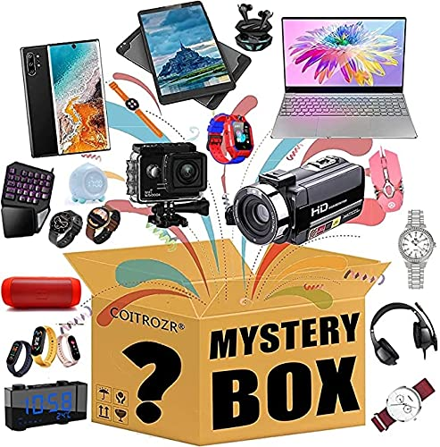 Xue Mei Zi Caja ciega electrónica de Misterio, Cajas de Misterio de Cajas de Suerte, Estilo Aleatorio, Date una Sorpresa o como Regalo para los demás