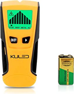 Stud Finder, 3 in 1 Multi-Function Wall Stud Sensor Detector with LCD Display and Sound Warning for AC Live Wire, Wood, Metal, Deep Scanning Kuled M79