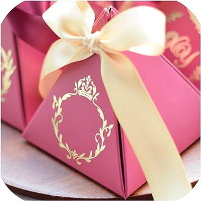 Amazon.com: 50 cajas de regalo de doble cara de mármol ...