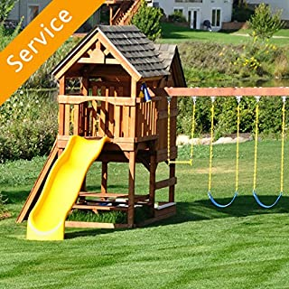 professional playset installation