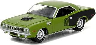 Plymouth 1971 HEMI Cuda Sassy Grass Green 1/64 by Greenlight 13180 B