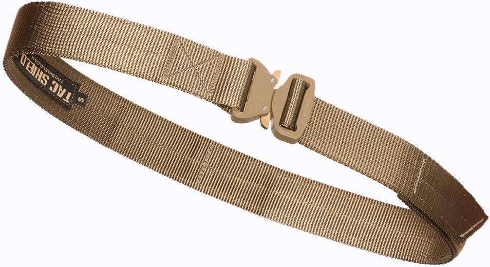Tac Shield T303-MDCY Cobra Buckle Medi Manufacturer OFFicial shop Gun Quality inspection Belt Coyote