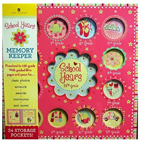 Publications international School Years Sweet Memories Deluxe Album Girl Book