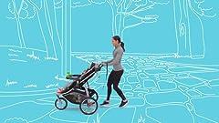 Amazon.com: Graco modos Jogger sistema de viaje, Tenley: Baby