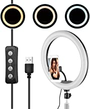 Nishore 13 Inch LED Ring Light Fill-in Lamp Built-in 168pcs LED Beads 10W Dimmable 2700-5500K Color Temperature