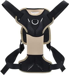 Bergan Auto Dog Harness Extra Large-tan/black 80-150lbs