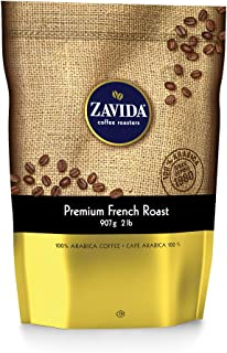 Zavida Coffee Premium Dark French Roast Coffee, 2 Pounds
