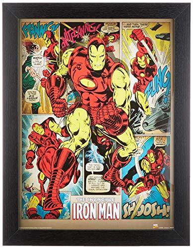 Le poster souvenir The Invicible Iron Man