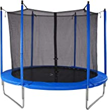 Bluerise Easy To Assemble 6Feet Trampoline With Enclosure Net Jumping Mat Safety Pad Trampoline for Kids Adults Heavy Duty Round Bounce Jumper For Indoor Outdoor