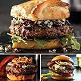 Best-of-the-Best Burger Flight from Omaha Steaks (Filet Mignon Burgers, Private Reserve Wagyu Burgers, and Private Reserve Angus Burgers)