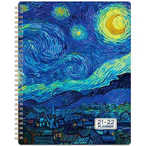 """Planner 2021-2022 - Weekly Monthly Planner from Jul 2021 - Jun 2022, 8"""" x 10"""", Plan Book, Weekly & Monthly Planner with Flexible Cover, Perfect for Using and as Gift"""