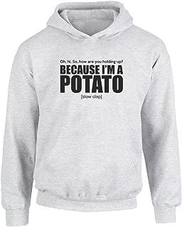 Because I'm A Potato, Kids Printed Hoodie