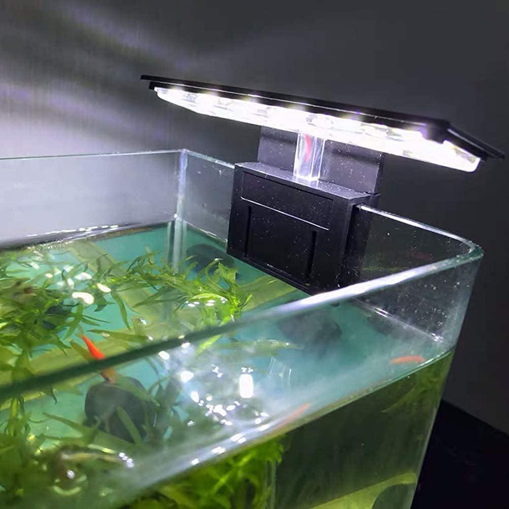 XEOGUIYA 6W Max 63% OFF 12 LED Max 78% OFF Aquarium Clip Planted Libra Lamp Aquariu