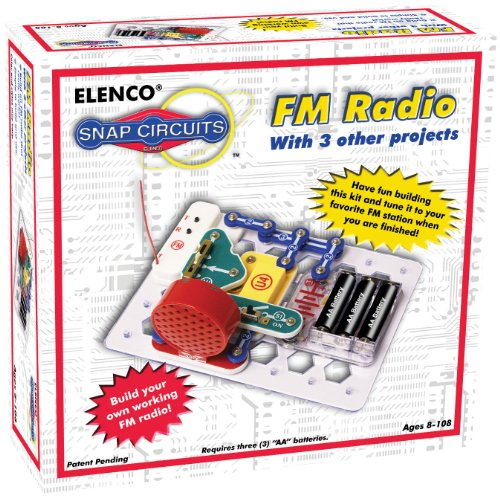 Elenco Snap Circuits FM Radio Kit
