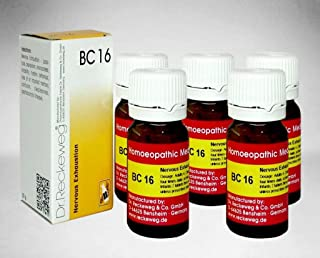 Dr.Reckeweg Germany Biochemic Combination Tablet Bc 16 Pack of 5