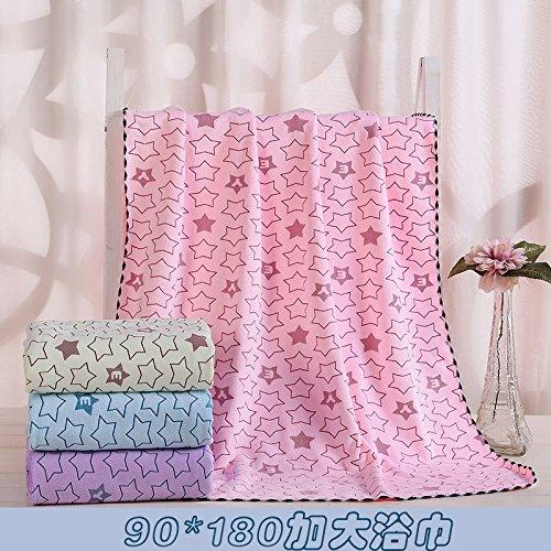 180 x 90 cm obtenir Épaissi Serviette de bain Winter Serviette de bain pour enfant Adulte que le Coton absorbant Serviette femelle