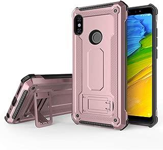Xiaomi Redmi Note 5 case/Redmi Note 5 Pro case, QLOA Multifunctional Mobile Phone case,Shockproof Cover XIAOMI REDMI NOTE5 PRO (2018 Release)-Rose Gold