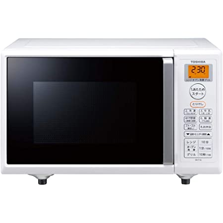 TOSHIBA オーブンレンジ 16L フラット庫内 ER-T16(W)