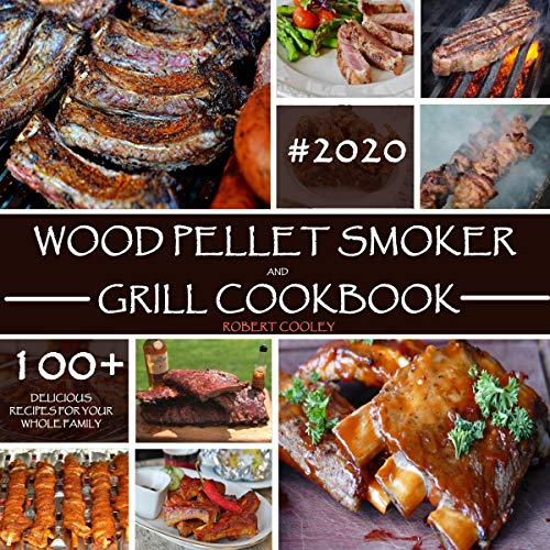Wood Pellet Smoker and Grill Cookbook cover art