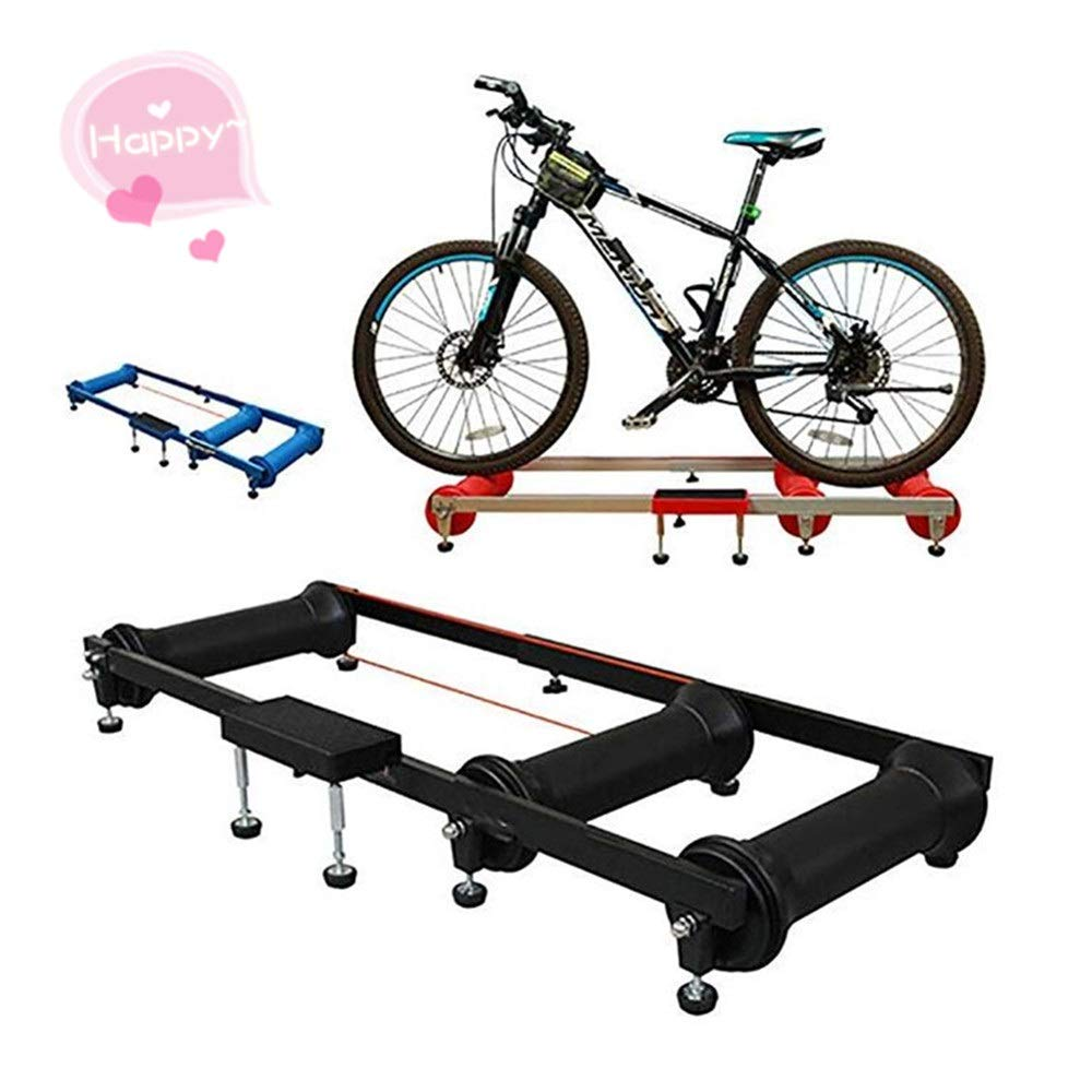 Rodillos para Bicicletas Bicicleta Plataforma de equitación con ruedas Mesa de entrenamiento con rodillos Bicicleta giratoria Plataforma de ejercicio interior Bicicleta de carretera para Bicicletas de: Amazon.es: Hogar