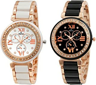 9b69c725f Swisstyle Analogue White Dial & Black Dial Womens Watches (Ss-703W-703B)